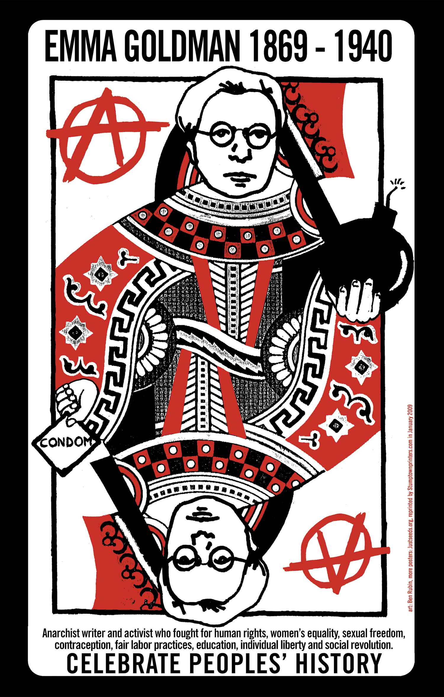 Emma Goldman, Queen of (A)